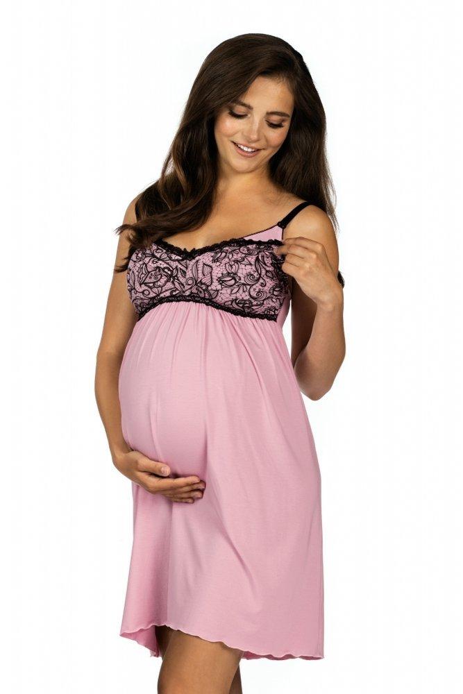 Koszula nocna dla kobiet w ciąży i karmiących Lupoline