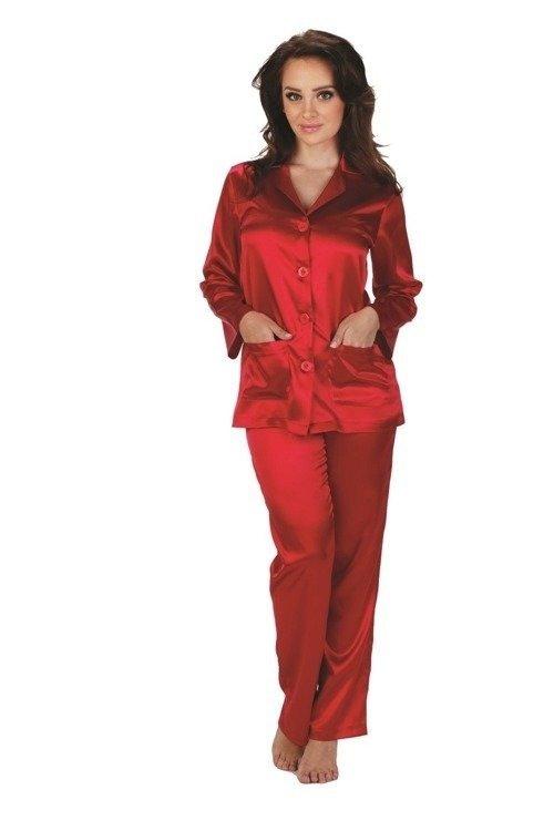 e2270838baf510 934 Classic Piżama damska Forex - czerwony czerwony | Piżamy damskie ...