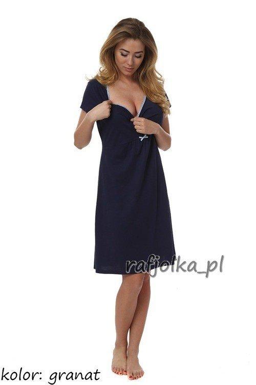 Dagna koszula nocna dla kobiet w ciąży niebieski Sklep