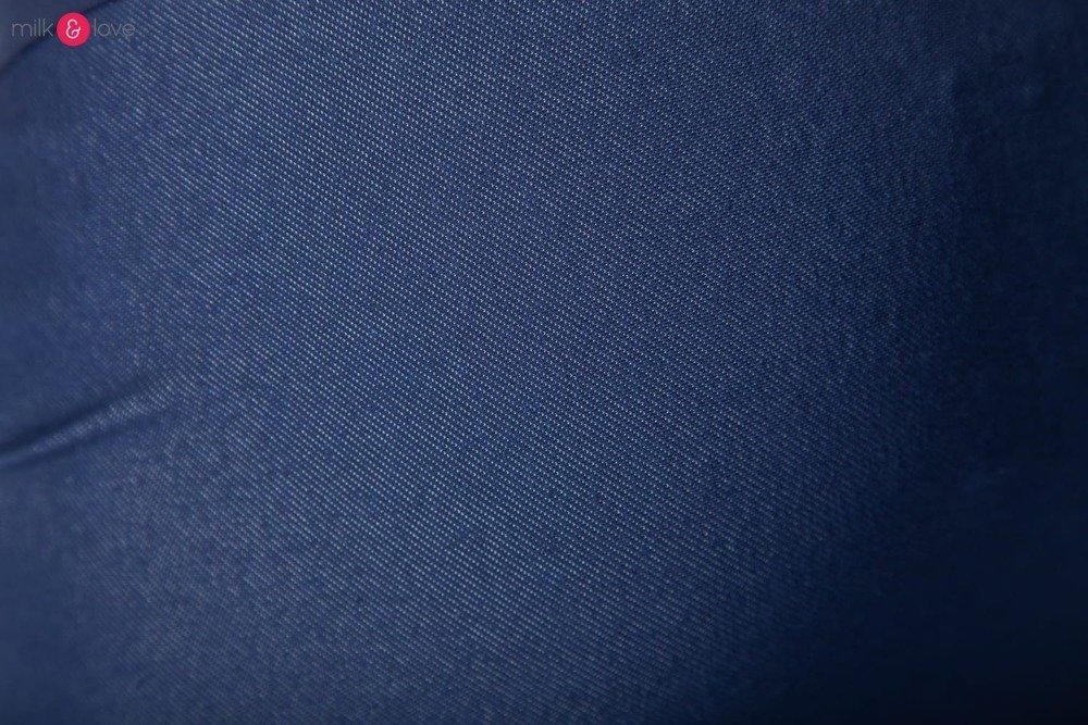 aee62ee6e7 ... Spódnica ciążowa z kieszeniami Milk Love a la jeans ...