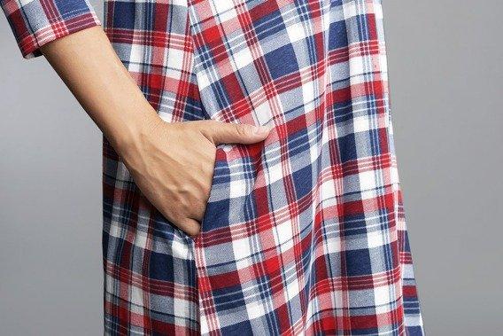 Rugia koszula nocna ciążowa i do karmienia rękaw 34 Italian